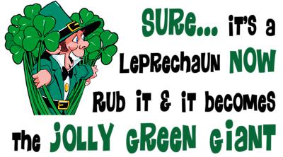Saint Patrick's Day Cartoon
